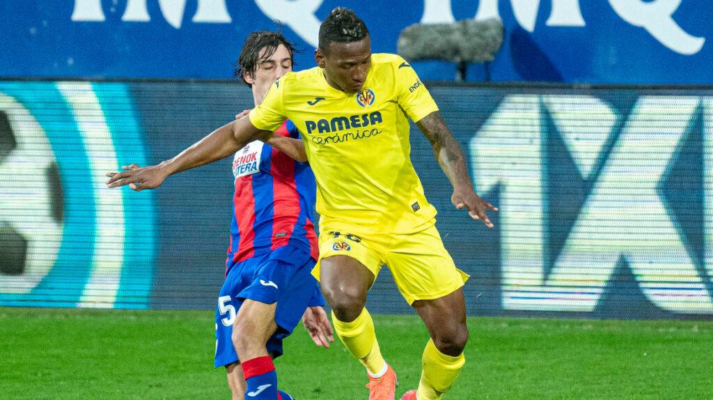 Villarreal derrotó al Eibar con Pervis Estupiñán en cancha