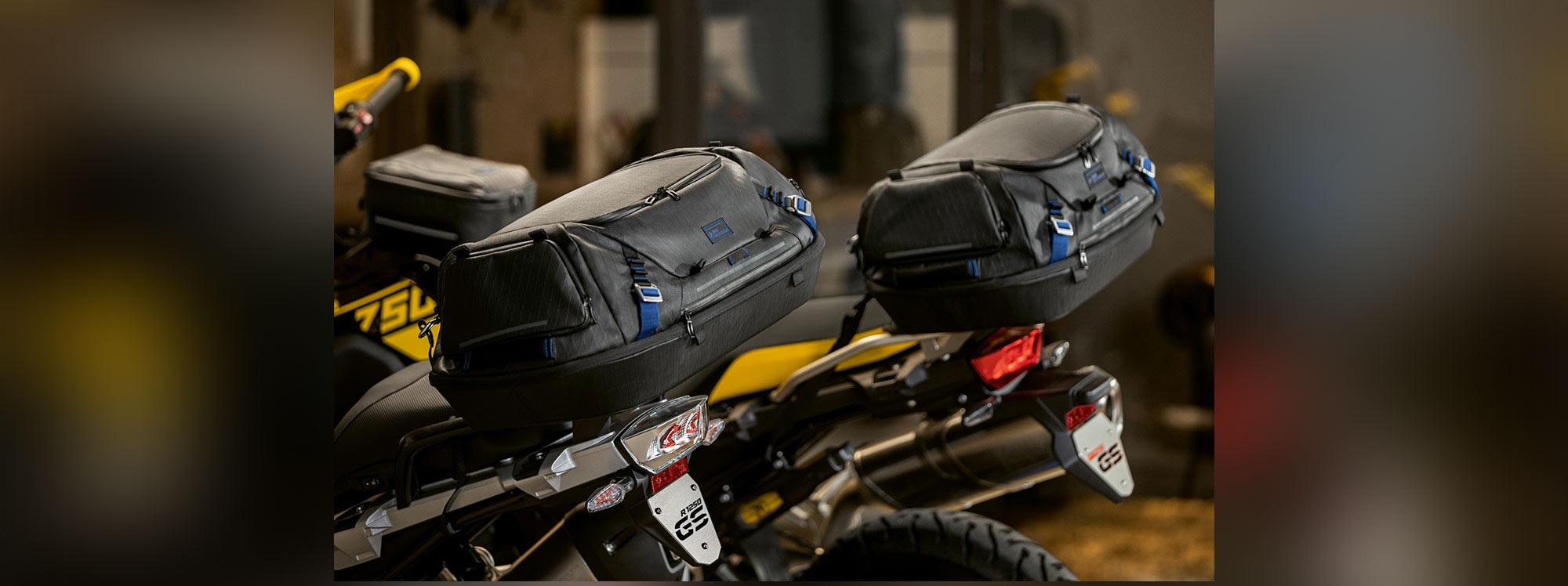 BMW lanza su línea de equipaje para  Motorrad