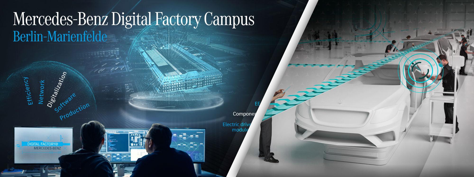 Mercedes-Benz planea una fábrica inteligente para liderar el desarrollo de nuevas tecnologías