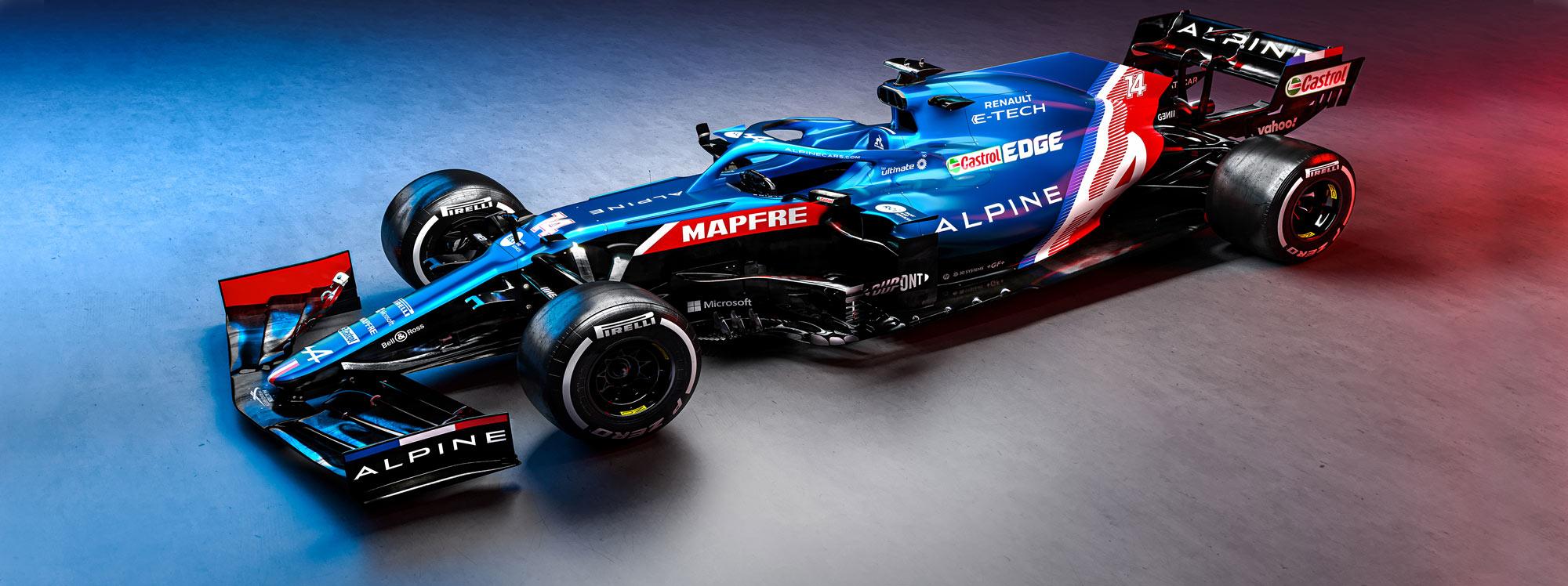 Alpine F1 de Renault empieza sus pruebas para Fórmula 1