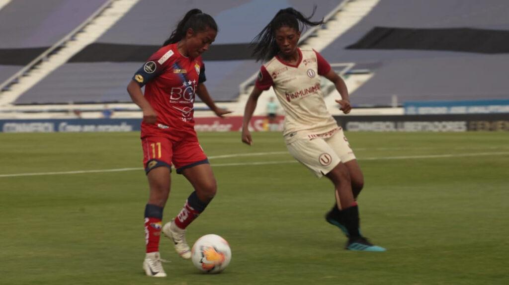 El Nacional sumó un punto y recibió 22 goles en la Libertadores femenina