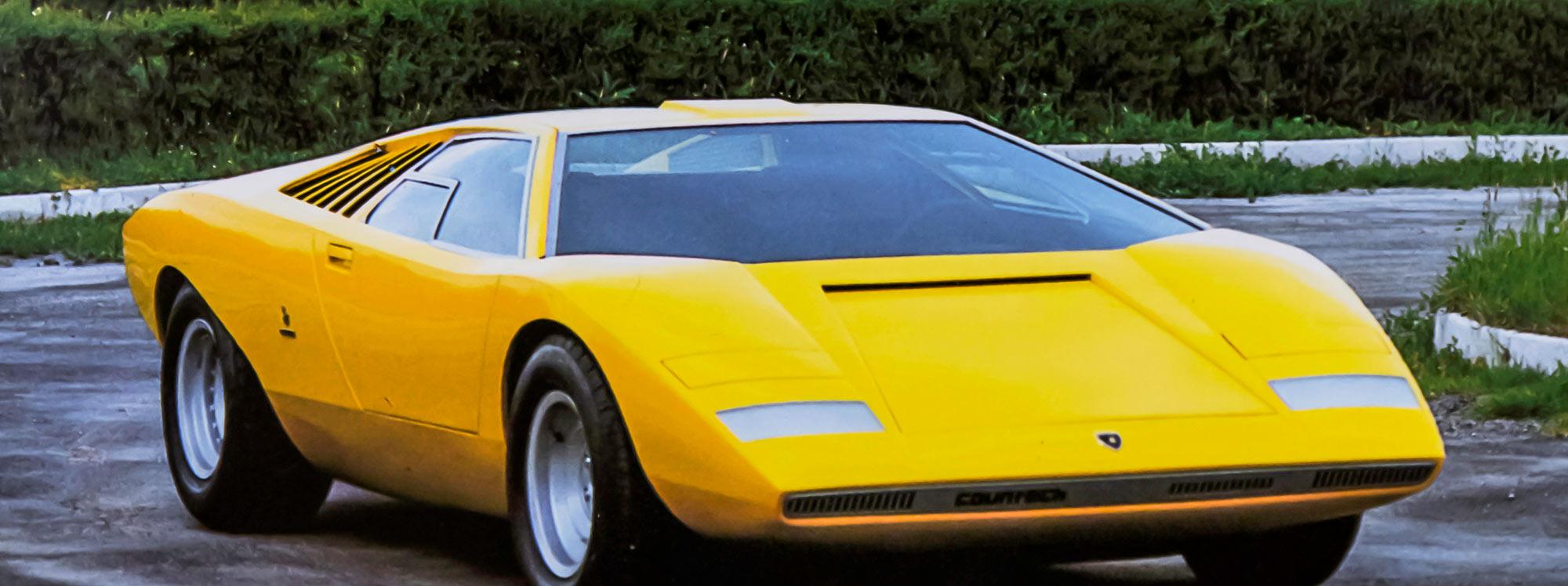 El icónico Lamborghini Countach LP 500 cumple 50 años