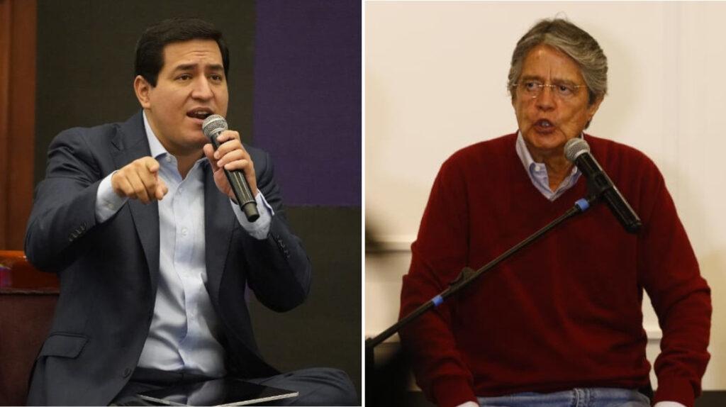 Así reajustan sus promesas de campaña Andrés Arauz y Guillermo Lasso