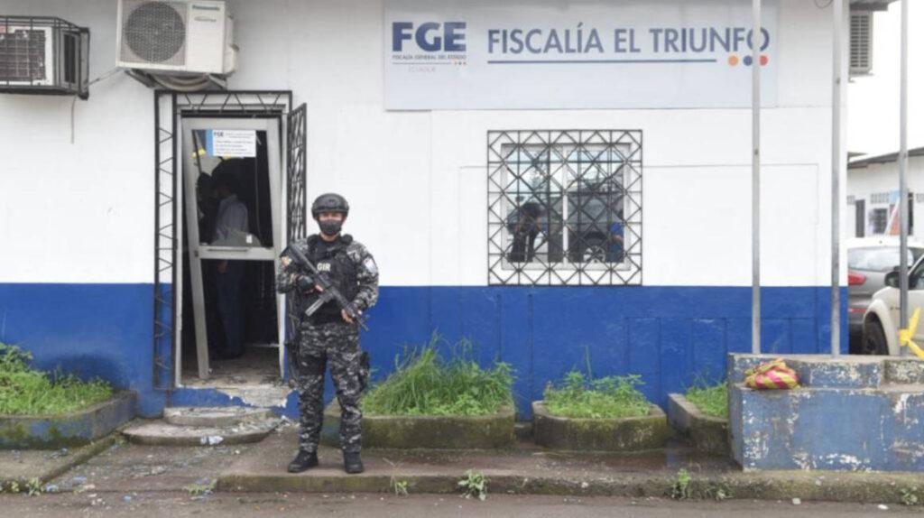 El Triunfo, un cantón importante en la ruta del narcotráfico