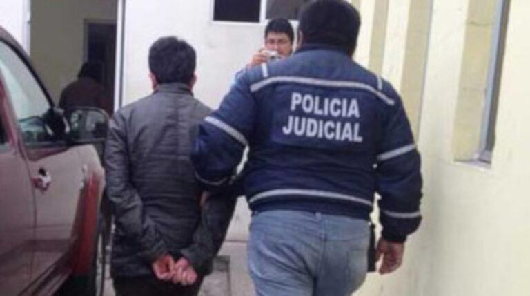 Imagen de la captura de los vinculados al asesinato de Juan Antonio Serrano, en septiembre de 2021.