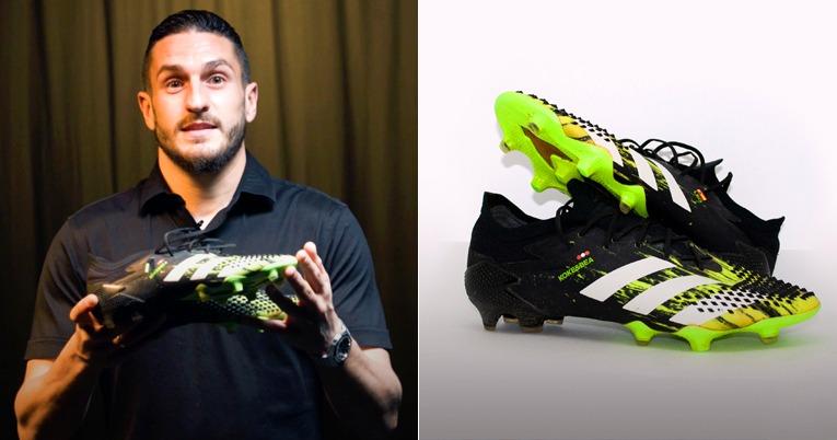 Koke Resurrección, dona los zapatos con las que se convirtió en el tercer jugador con más partidos en el Atlético de Madrid.