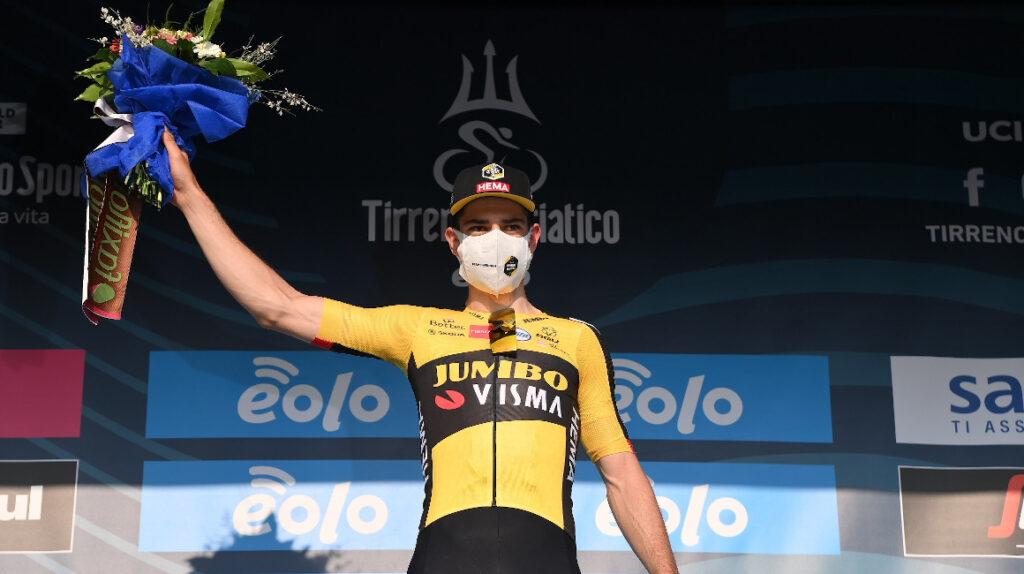 Wout Van Aert se lleva la Etapa 1 de la Tirreno Adriático