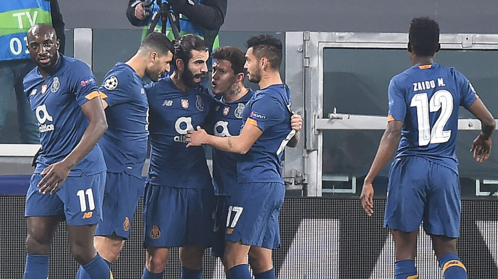 Porto elimina a la Juventus y avanza a cuartos de final de Champions
