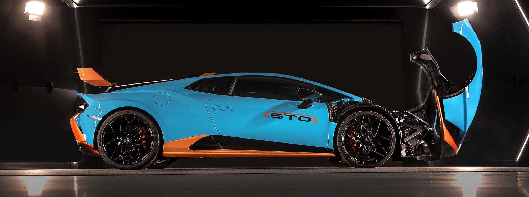 Lamborghini presenta su nuevo modelo: el   Huracán STO