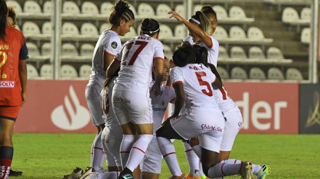 El Nacional se despide de la Libertadores femenina a falta de un partido