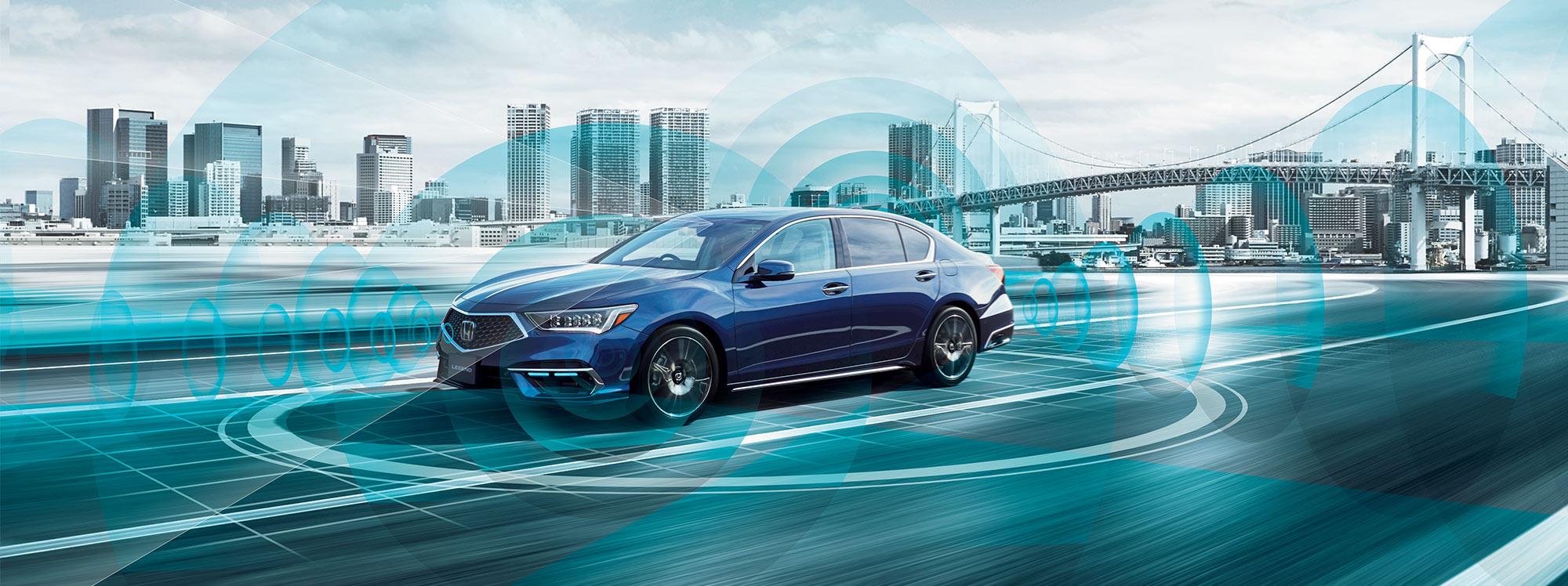 Honda SENSING Elite, el sistema de seguridad con conducción automatizada
