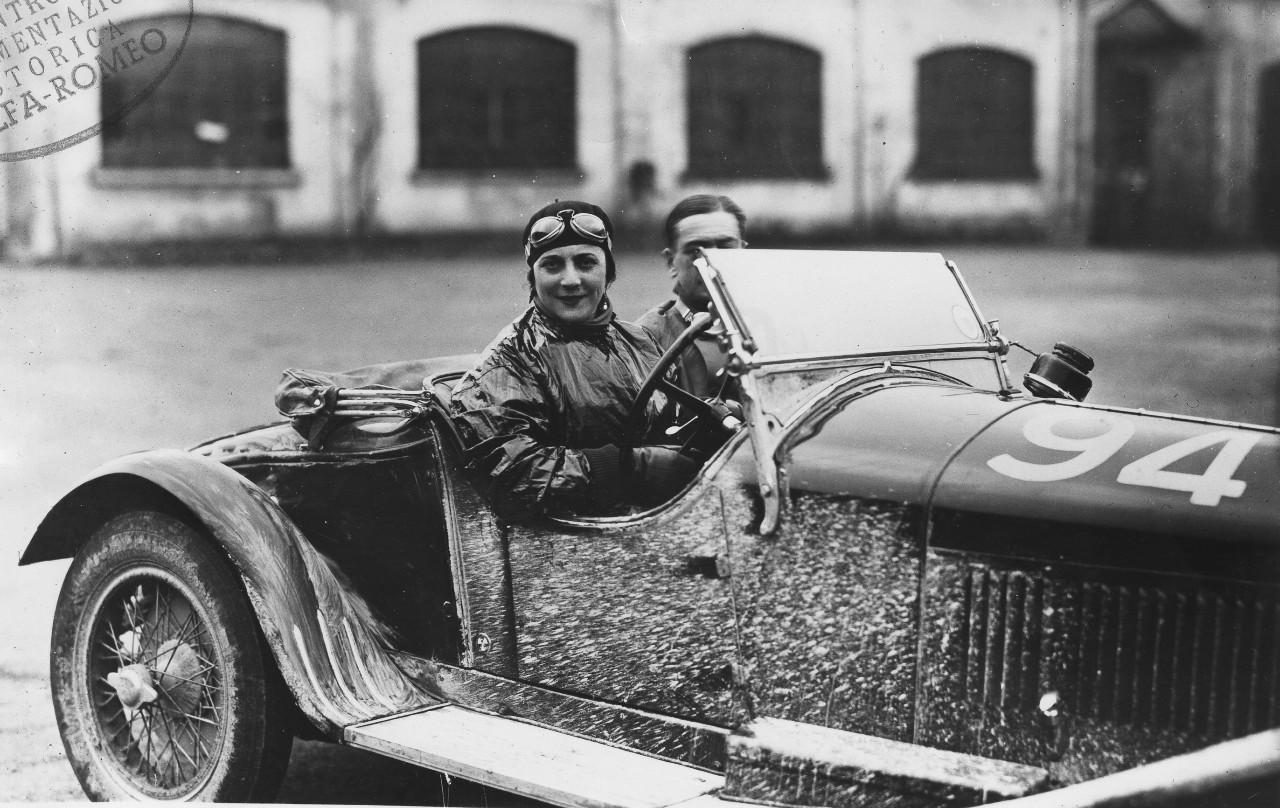 Alfa Romeo rinde homenaje a las mujeres piloto