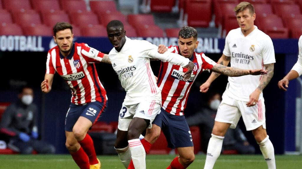 Atlético Madrid y Real Madrid empatan 1-1 en el derbi de la ciudad