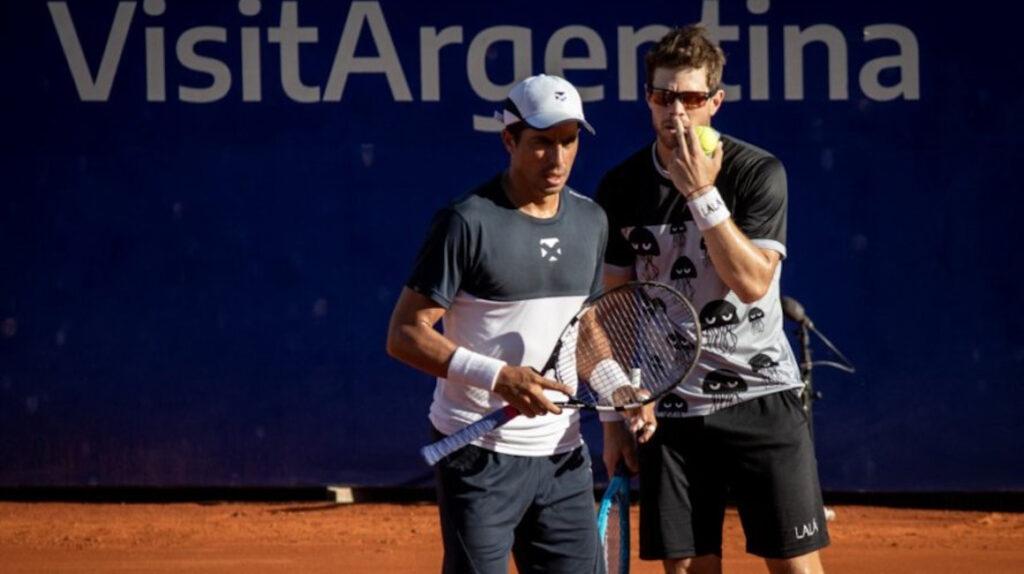 Gonzalo Escobar y Ariel Behar son finalistas del ATP 250 de Buenos Aires
