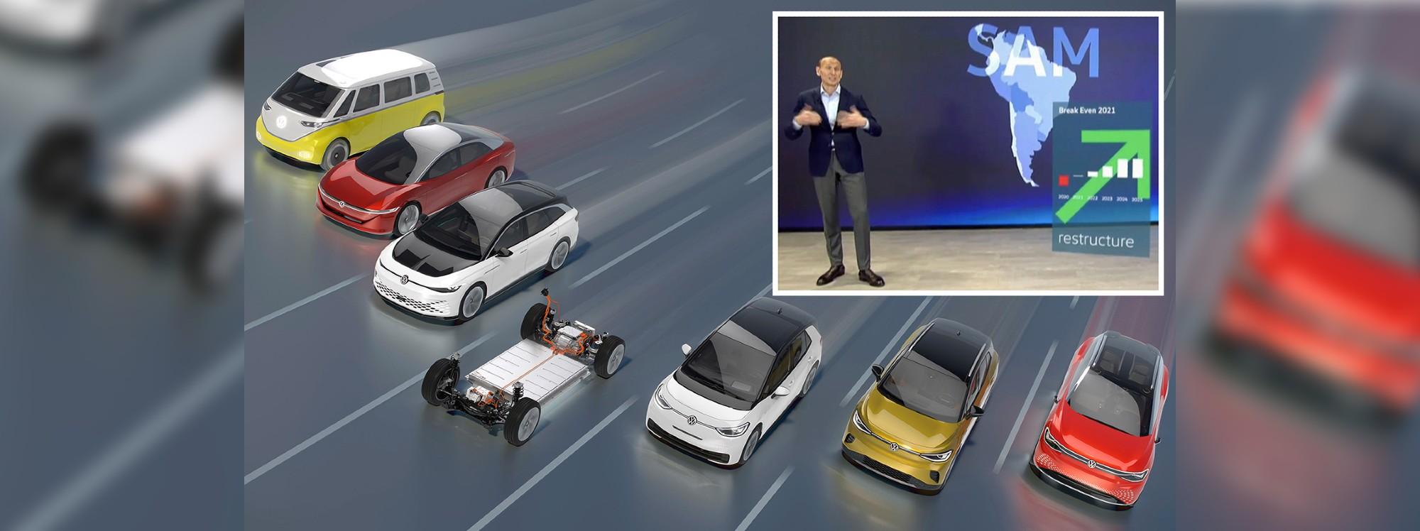 Volkswagen pisa el acelerador de su plan de electrificación mundial. ¿Y Sudamérica?
