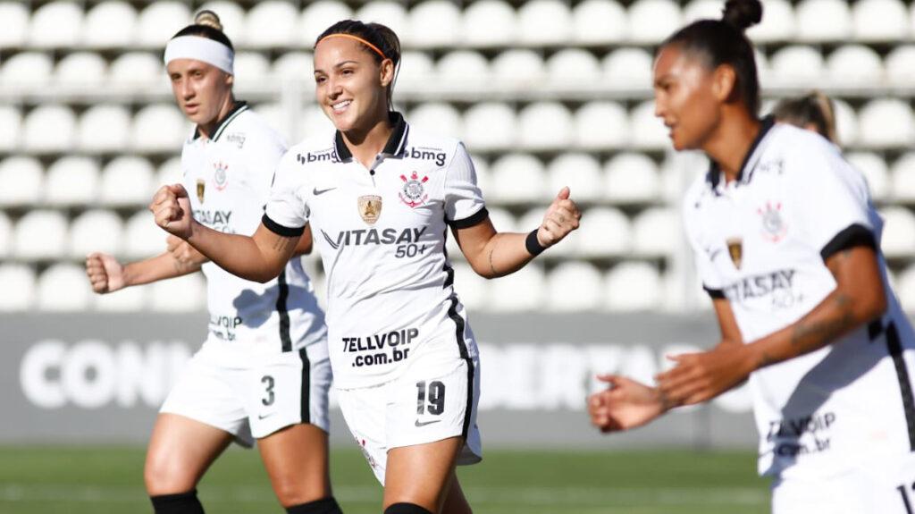 Corinthians golea 16-0 a El Nacional en la Copa Libertadores femenina