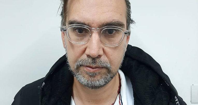 'El Mariachi, Álex Izquierdo Bueno, un operador ecuatoriano capturado en Colombia.