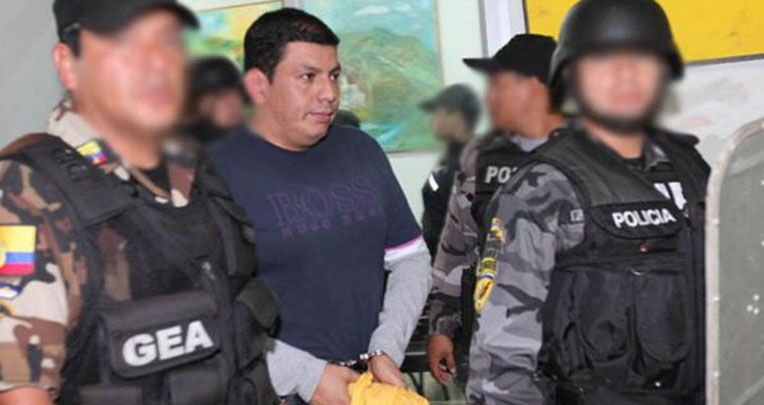 El capitán Telmo Castro fue la cabeza visible del cartel de Sinaloa en Ecuador.