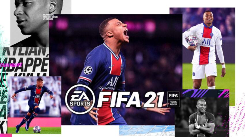 Kylian Mbappé es la imagen del videojuego FIFA 21 de EA Sports.