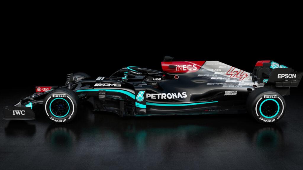 Mercedes presenta el auto de Lewis Hamilton para buscar el octavo título