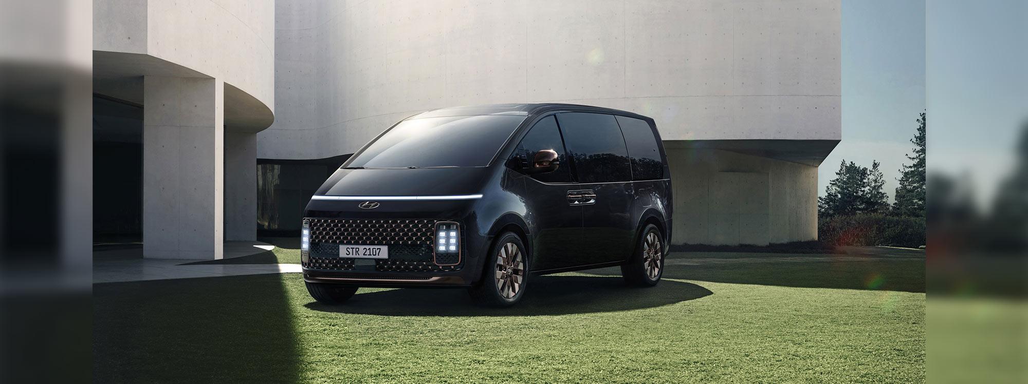 Hyundai Staria, una mirada futurista a los vehículos multipropósito