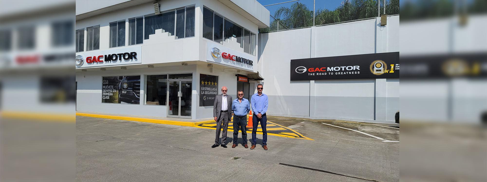 GAC Motor tendrá un nuevo punto de venta en Guayaquil
