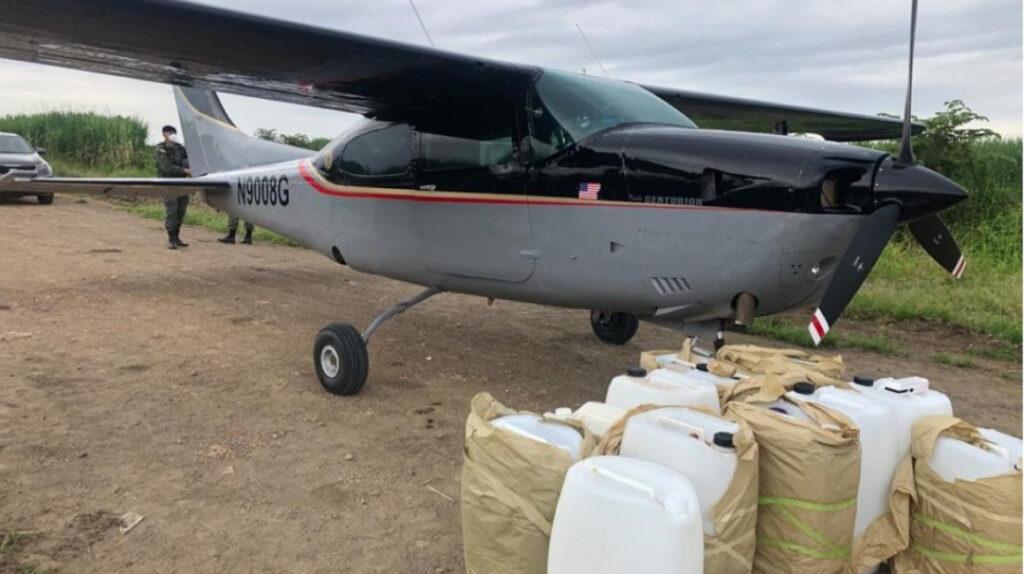Avionetas aterrizaron en Milagro para recoger droga y llevarla a México