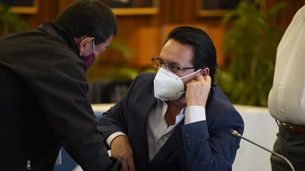 Va a haber juicio político en contra de Celi, asegura Villavicencio
