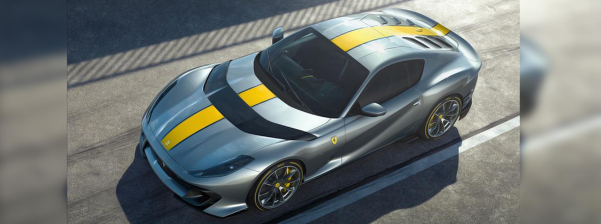Todo un misterio el nombre oficial del nuevo Ferrari V12