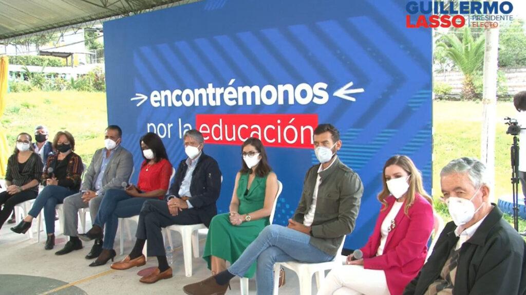 Guillermo Lasso presentó a los primeros ocho ministros de su gabinete
