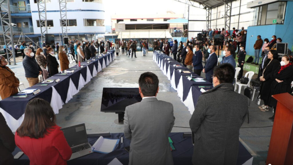 Lista comisión que tratará pedido de remoción del alcalde Yunda