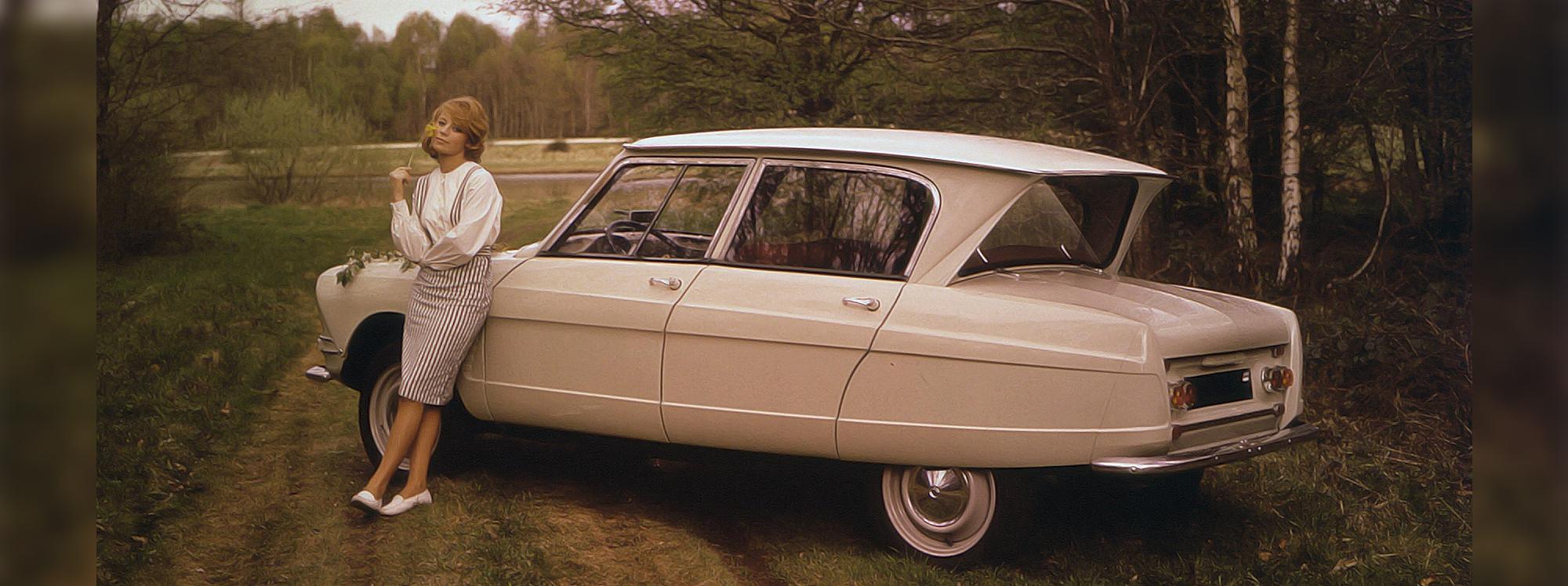 Recorra la historia del Citroën AMI 6 por sus 60 años