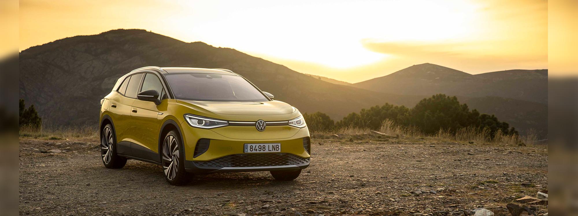 ID.4 es el primer SUV completamente eléctrico de Volkswagen
