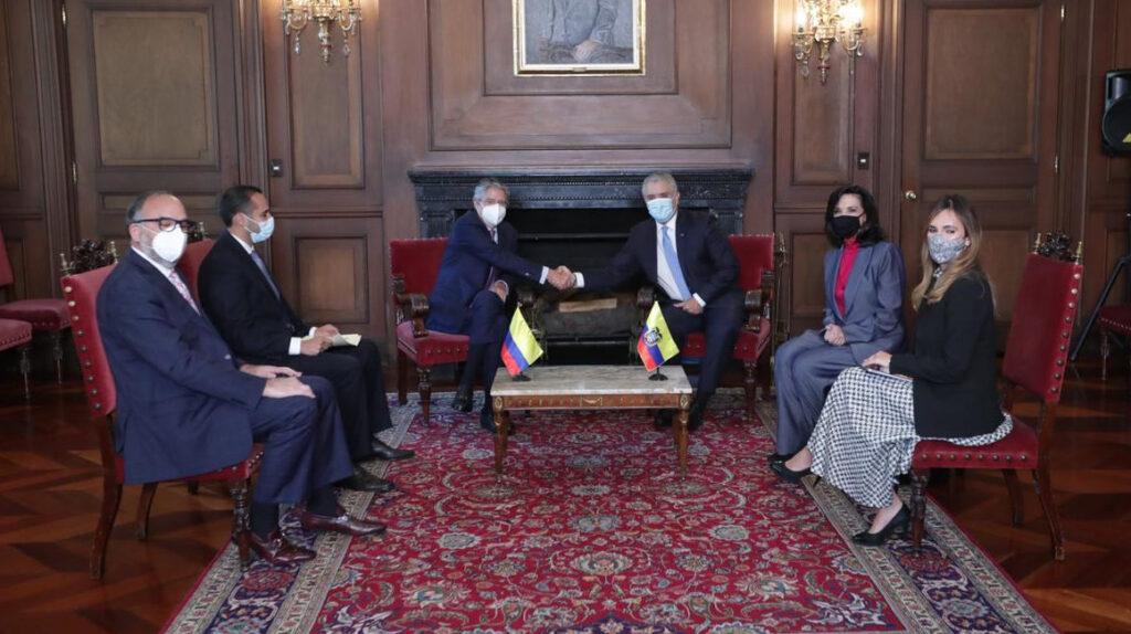 Lasso aboga por el ingreso de Ecuador a la Alianza del Pacífico