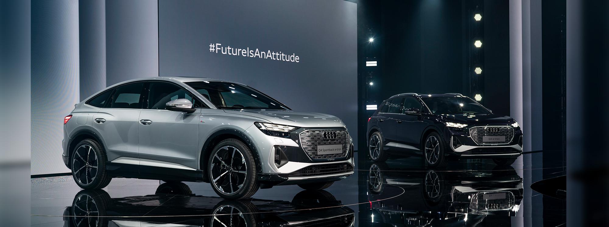 Audi renueva su compromiso con la electrificación con el Q4 e-tron