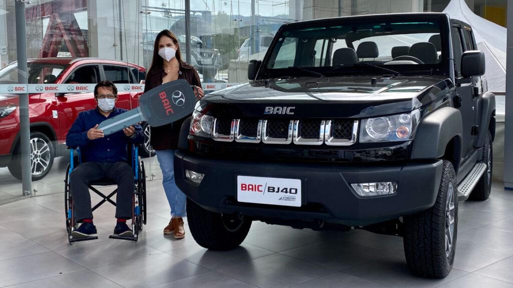 BAIC asesora en la compra de vehículos para personas con discapacidad