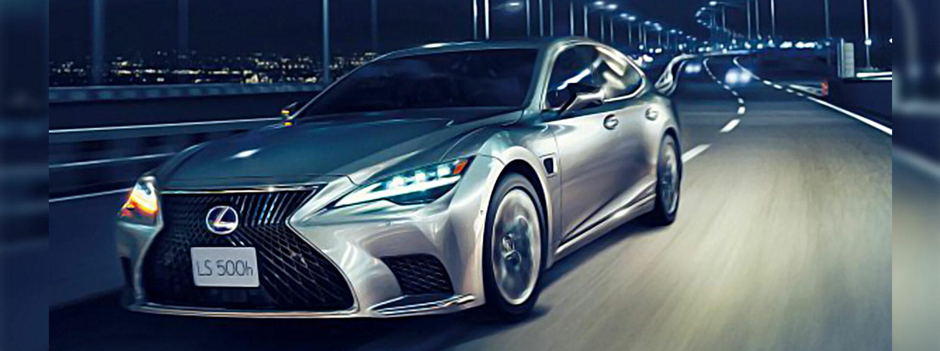 """El nuevo Lexus LS 500H lo convierte en un """"crack"""" al volante"""