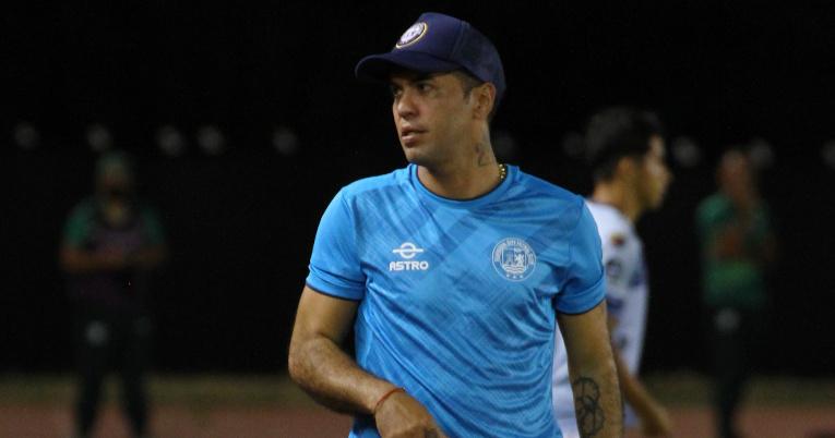 El exportero, Daniel Viteri, como asistente técnico del Guayaquil City durante la temporada 2021 de la LigaPro.