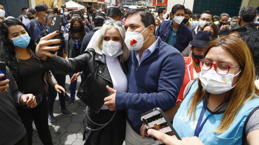 """Andrés Arauz llama a la """"unidad"""" para dejar atrás un """"pasado de exclusión"""""""