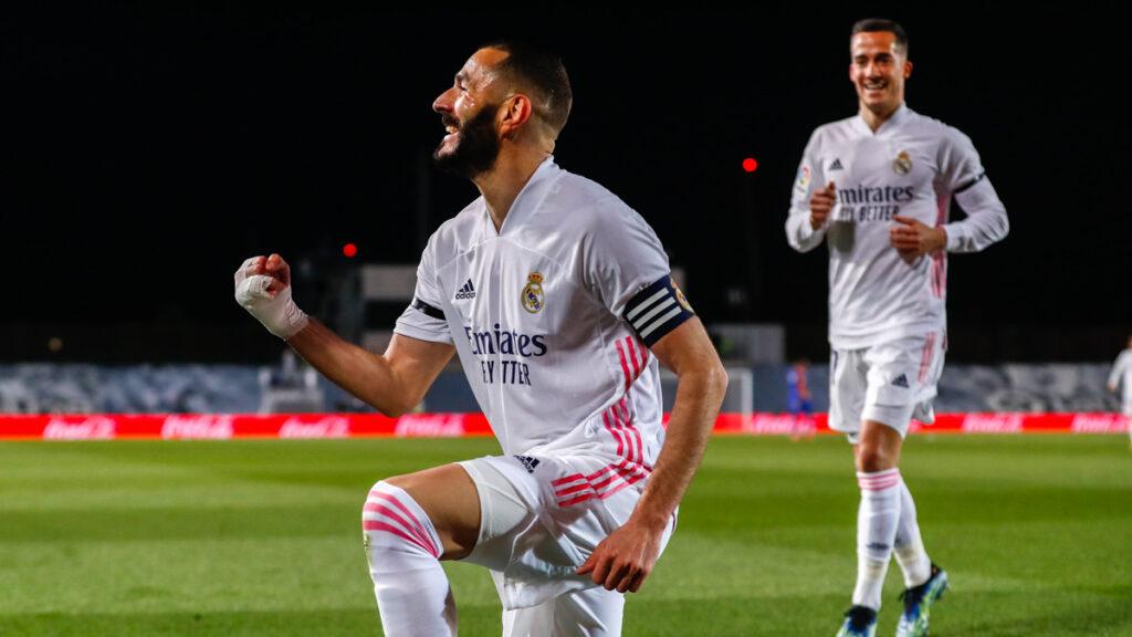 Real Madrid fue superior a Barcelona y lo venció en el clásico español