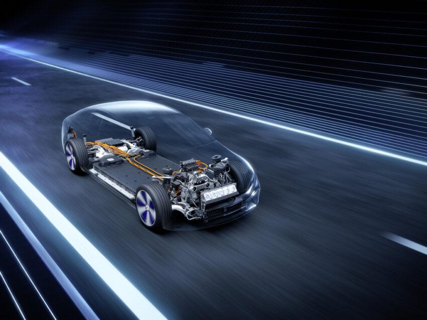 El motor clase S es eléctrico en su totalidad. Tomado de: Media.daimler.com