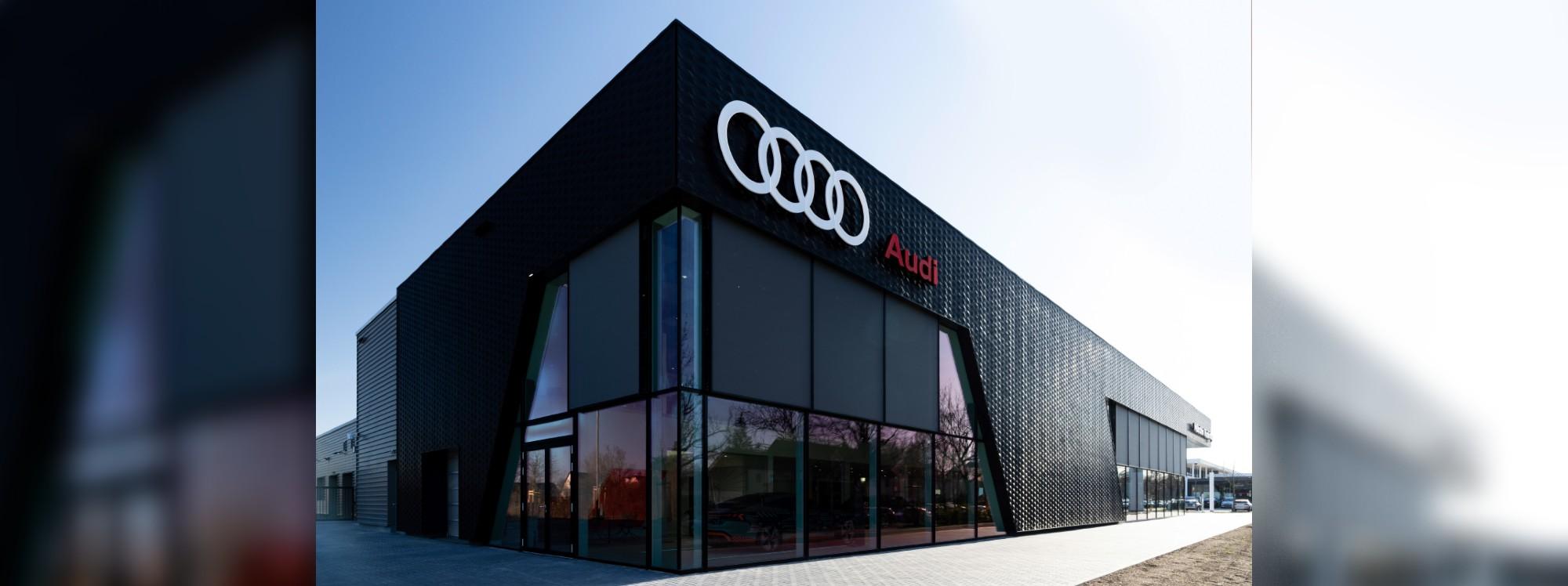 Sostenible y digital: Audi abre una nueva tienda insignia en Múnich