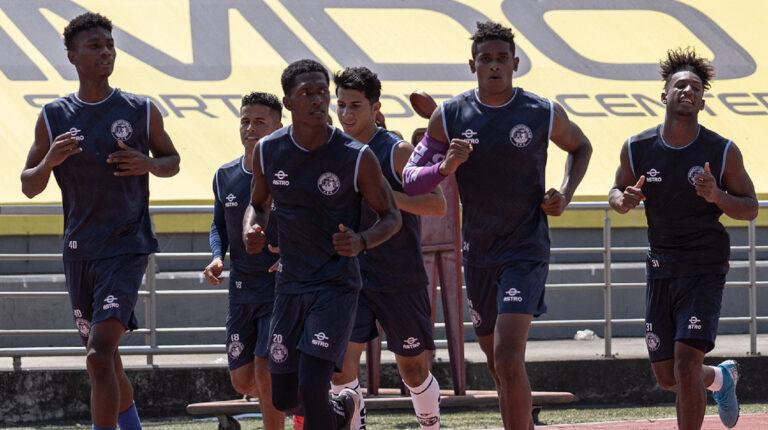 Guayaquil City entrenamiento