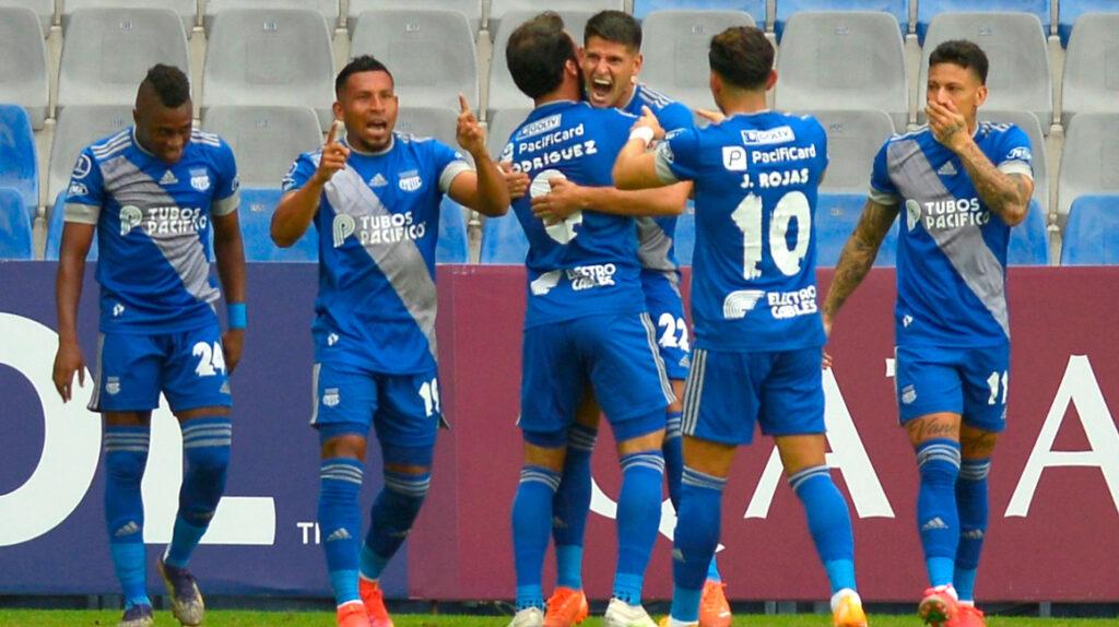 Barceló y Cevallos le dan el pase a Emelec a la fase de grupos de la Sudamericana