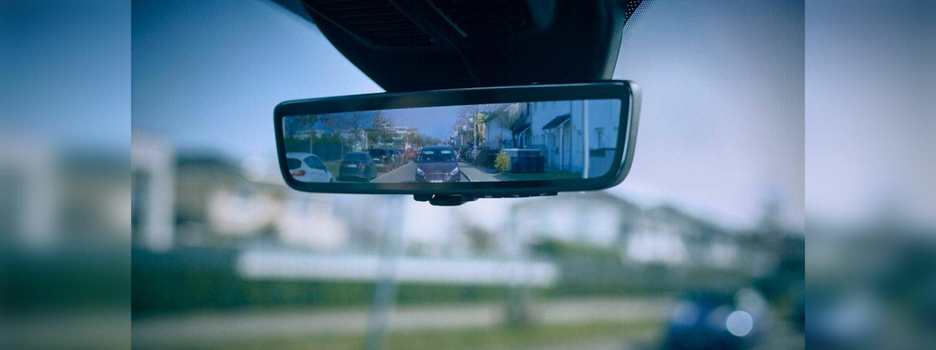 El nuevo espejo inteligente de Ford