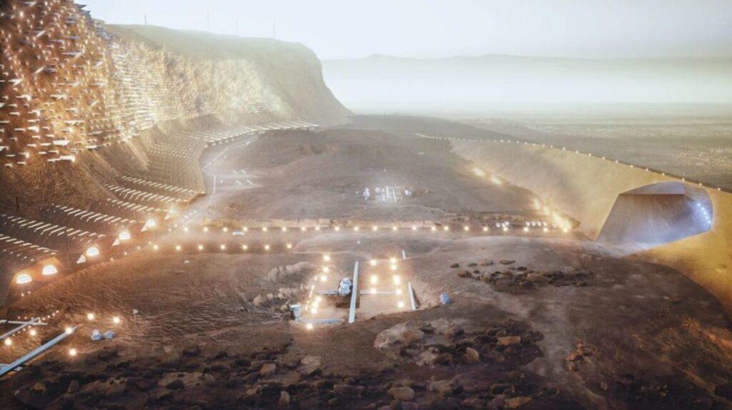 Nüwa: así es la futurista ciudad que se planea en Marte a partir de 2054