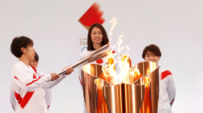 Antorcha olímpica Tokio 2021