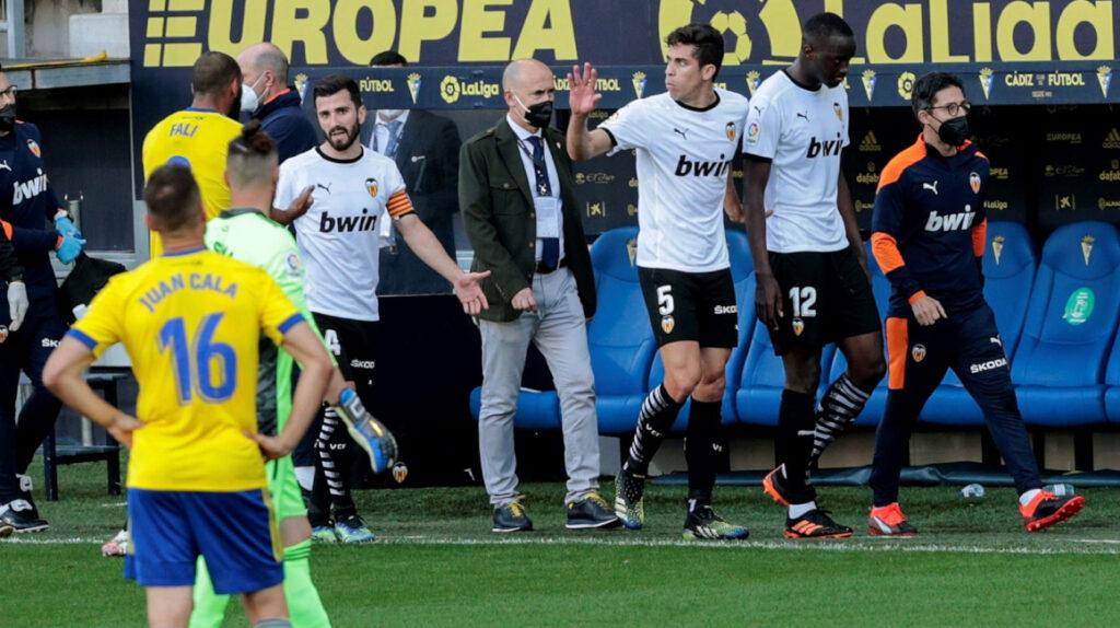 Episodio de racismo en el partido entre Cádiz y Valencia en España