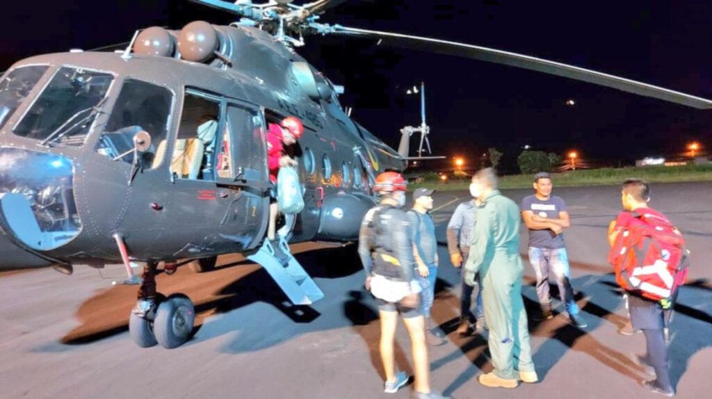 Rescatan a cinco personas tras crecida del caudal del río Upano