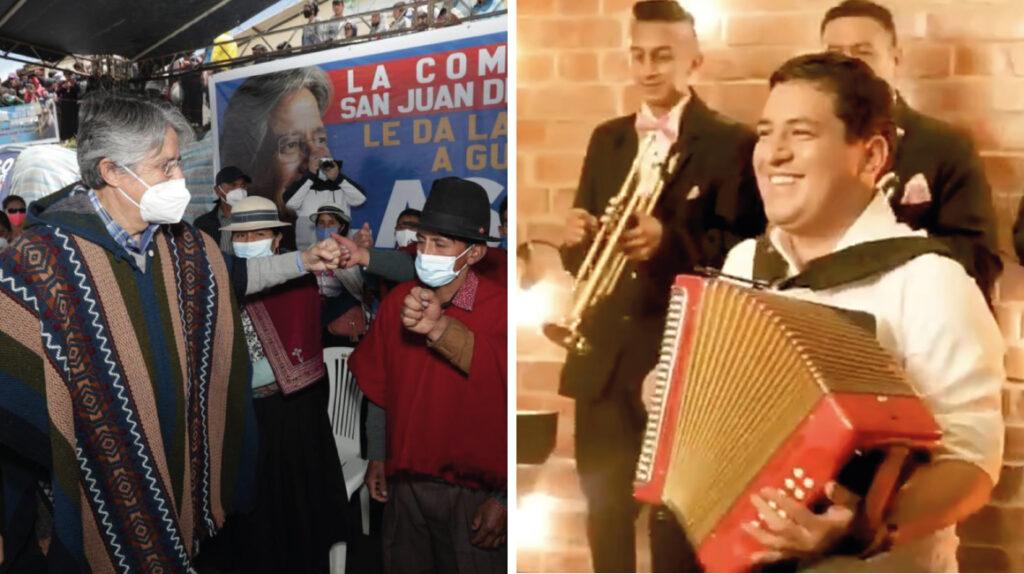 La polémica cumbiambera de Arauz y la colección de ponchos de Lasso